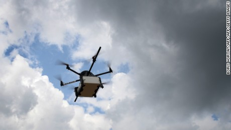 How drones could be used to save lives