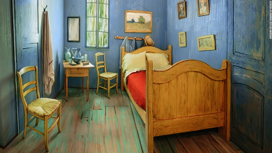 Van Goghu0027s Bedroom Is Available On Airbnb | CNN Travel Pictures Gallery