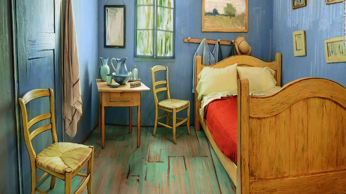 Van Gogh Paintings Room At Arles