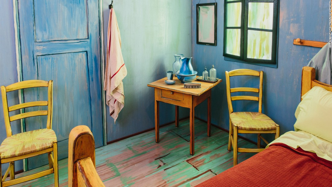 . Van Gogh s bedroom is available on Airbnb   CNN Travel