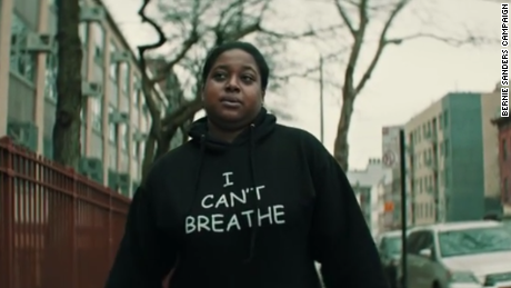 Why Erica Garner's support for Sanders makes a difference