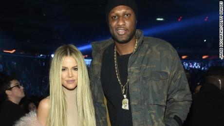 Khloe Kardashian et Lamar Odom en 2016
