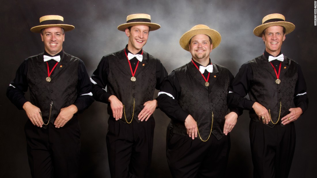 "The award-winning Main Street Quartet from Florida made a splash with a medley of not-so-old chestnuts by Britney Spears, Lady Gaga, Bruno Mars and Pink during the 2015 International Barbershop Convention. The video of their performance went viral on YouTube, with more than 700,000 views. Questioning how the music of today will sound to listeners decades from now, the medley was built around a 1963 song by the Osmond Brothers, ""These Will be the Good Old Days."""