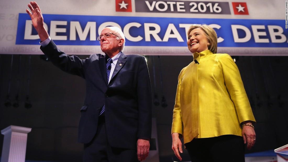 Democratic debate: Clinton embraces Obama