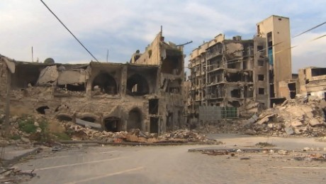 CNN on the front lines in war-torn Aleppo