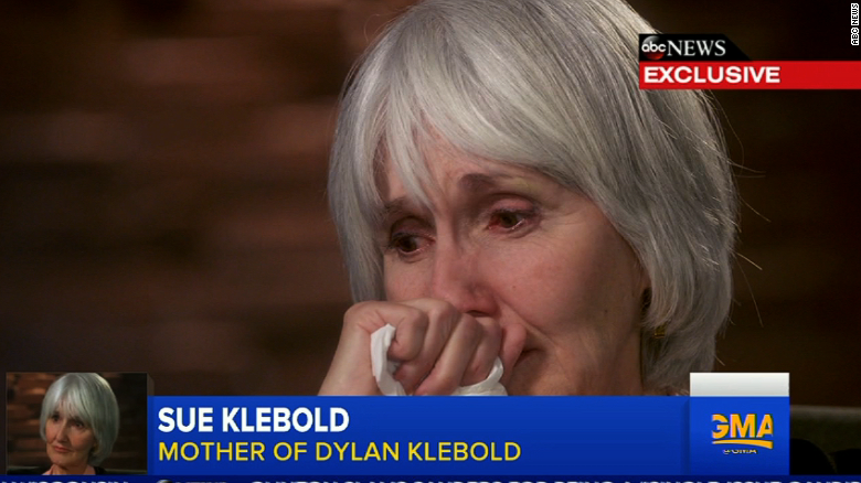 Mother of Columbine shooter speaks out