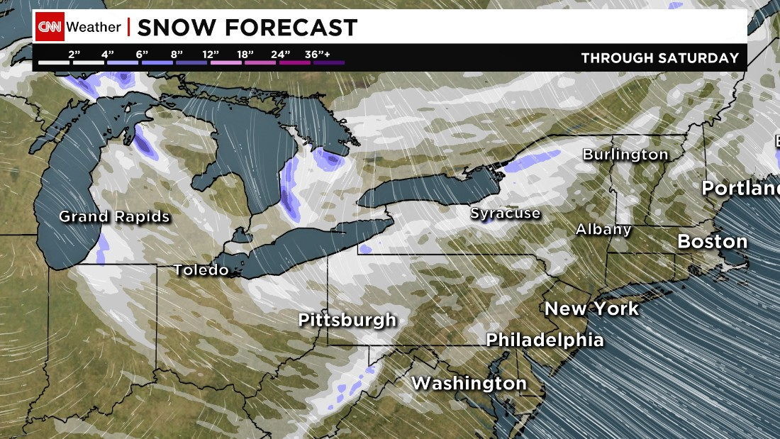 Bundle up Northeast: Record lows expected this weekend