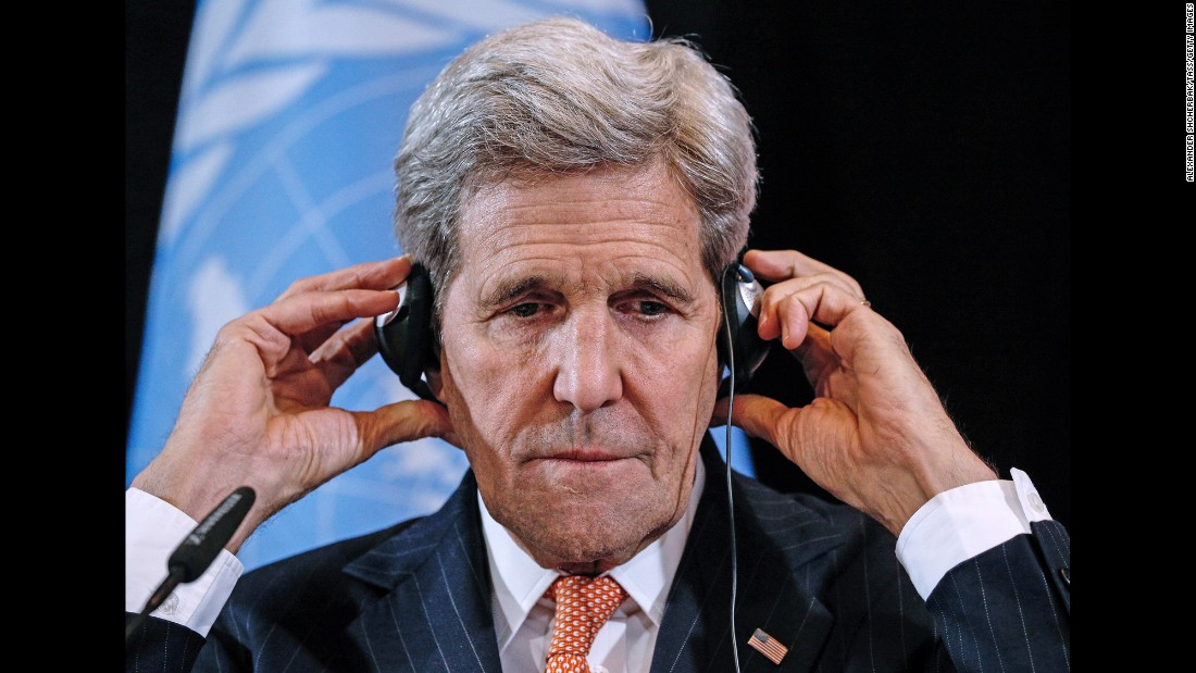"U.S. Secretary of State John Kerry attends a news conference Friday, February 12, after the International Syria Support Group met in Munich, Germany. Major world powers <a href=""http://www.cnn.com/2016/02/12/middleeast/syria-talks/"" target=""_blank"">have agreed to a ""cessation of hostilities,""</a> Kerry announced, and the immediate delivery of humanitarian aid. It was not clear, however, what effect this agreement would have in a country that has been at war for almost five years. Terrorist groups such at ISIS and al Nusra Front were not party to the new agreement."