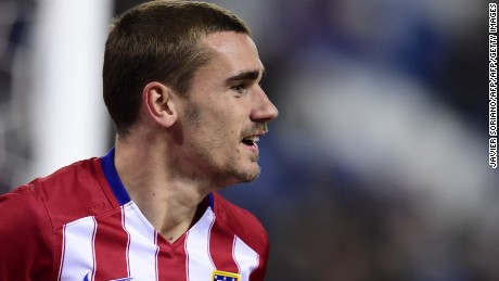 Antoine Griezmann has enjoyed a stellar season with Atletico Madrid.