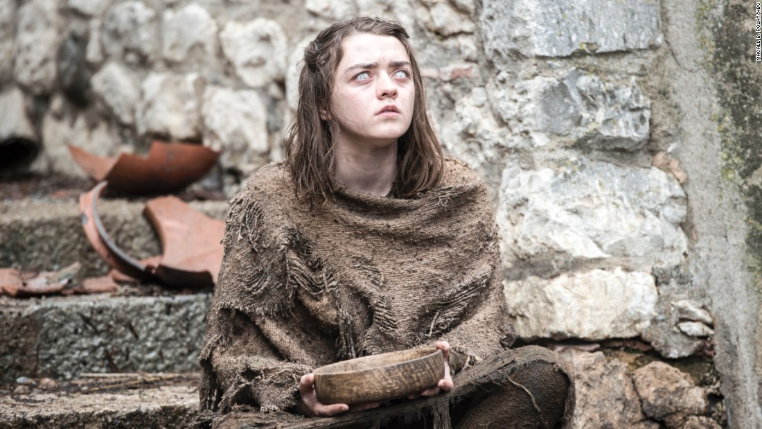 Will a blind Arya Stark (Maisie Williams) continue her training after disobeying orders from the Faceless Men in Braavos? Mentor Jaqen H'ghar says she will get only one more chance.