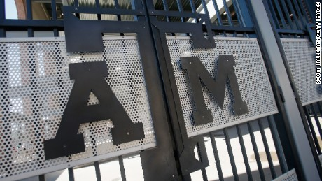 Texas A&M in College Station was the site of a reported racially charged incident.