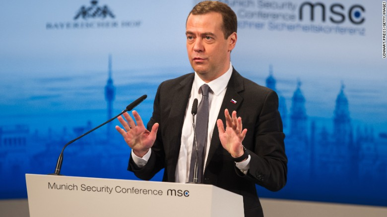 Russian PM: It's 'new Cold War'