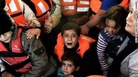 The United Nations Refugee Agency says the proportion of children making the Mediterranean Sea crossing is increasing.
