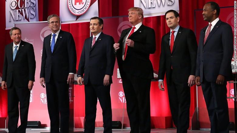 Trump, Cruz and Rubio in war of words before Primary