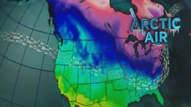 Record-breaking cold about to sweep eastern U.S.