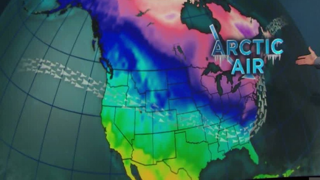 Record-breaking cold sweeps Eastern U.S.