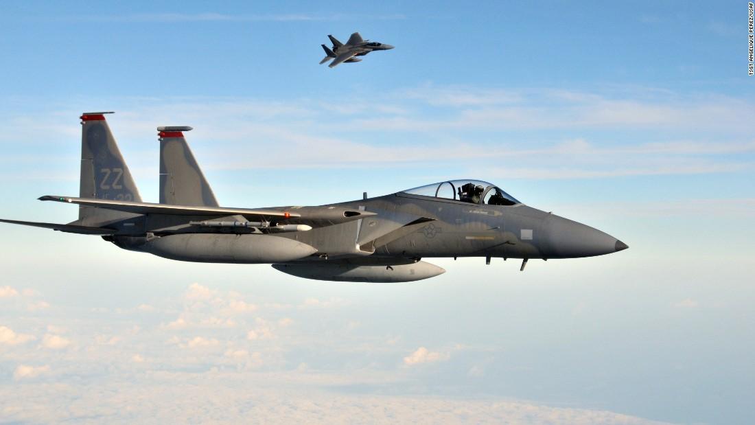 Air Force investing $12B in F-15s - CNNPolitics Usaf Fighter Pilot F 22