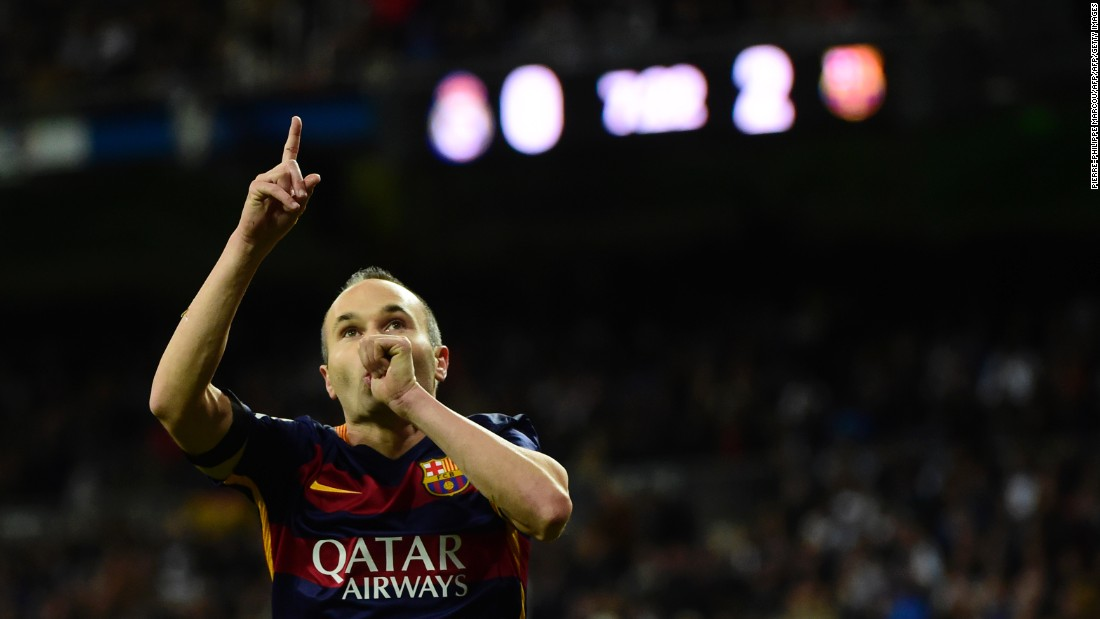 Seven La Liga titles, four Champions League crowns, a European Championship winner and a man whose goal led Spain to World Cup glory in 2010, there aren't many who can compete with Andres Iniesta. The little magician, 31, has wowed fans for years and his inclusion was a mere formality.