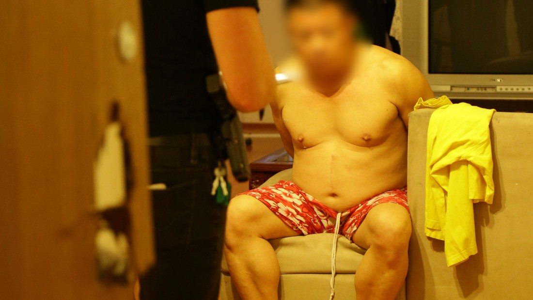 One Chinese national and three Hong Kong nationals have been arrested.