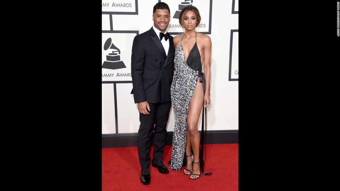 Ciara and her boyfriend, football star Russell Wilson