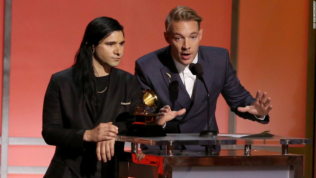 """Where Are U Now,"" Skrillex and Diplo with Justin Bieber (not pictured)"