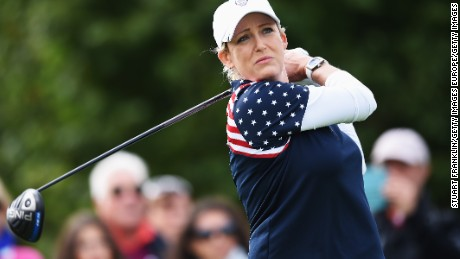 Kerr has played in eight Solheim Cups for USA against Europe.