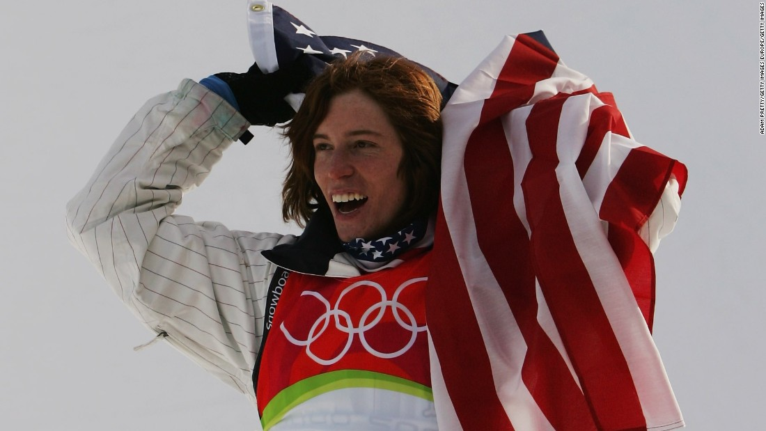 "Two-time halfpipe gold medalist Shaun White of the U.S. is the sport's most famous participant. Formerly known as the ""Flying Tomato,"" White has taken on a business-like approach to the sport as owner of the Air + Style games."