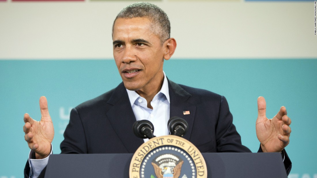 Obama calls for halt to new construction, militarization in Asian waters