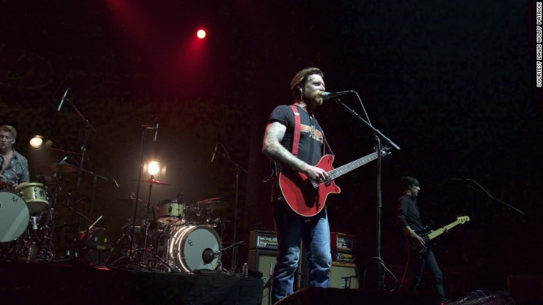 Eagles of Death Metal finish tragic Paris concert