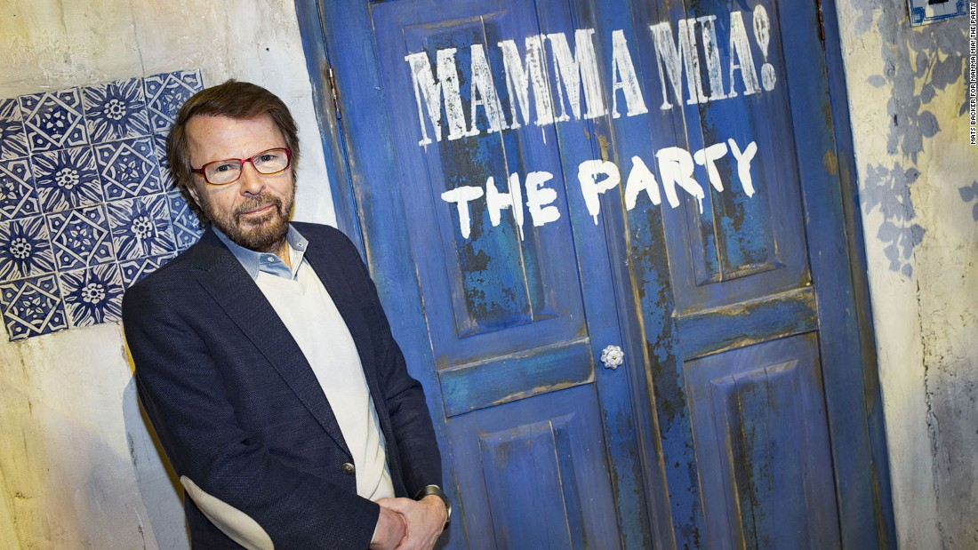 Mamma Mia! The Party is an ABBA-inspired Greek restaurant created by former band member Bjorn Ulvaeus with the backing of the rest of the legendary 1970s group.