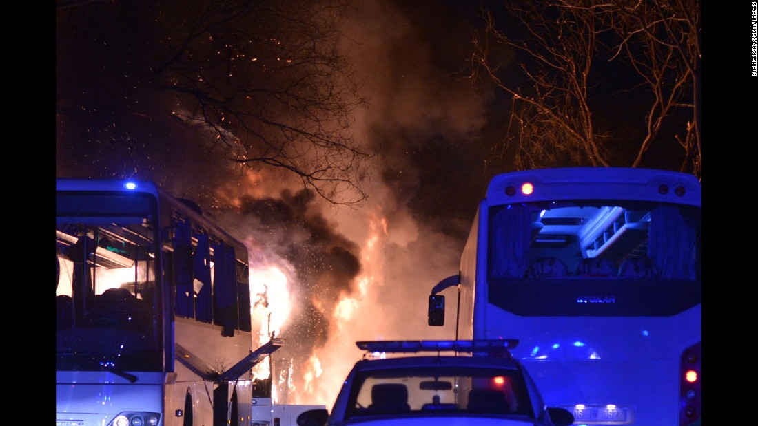 Twenty-eight people were killed and 61 others were injured in the blast, according to Deputy Prime Minister Numan Kurtulmus.
