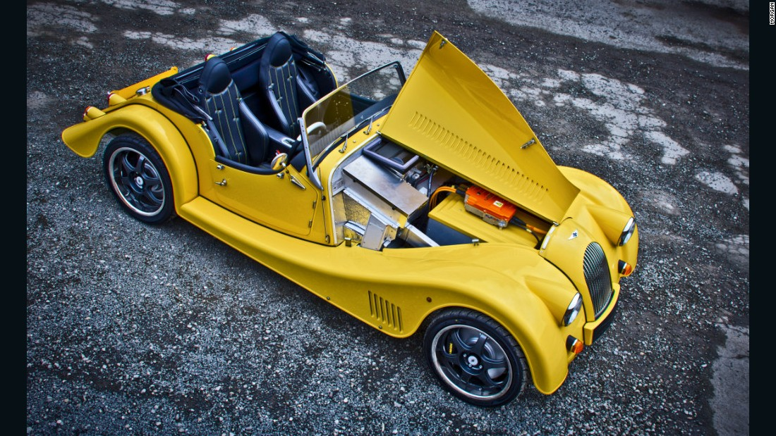 """We wanted to see how much fun you can have in an electric sports car, so we have built one to help us find out,"" explain Morgan operations director Steve Morris on the famous car company's website."