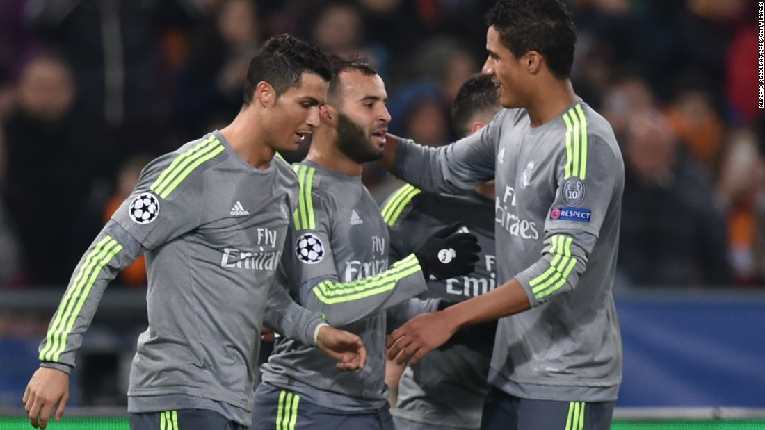 Jese Rodriguez, who entered the action as a substitute, ensured Real went back to Spain with a second away goal with a fine finish four minutes from time.