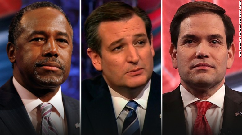 Carson, Rubio, Cruz town hall in 90 seconds