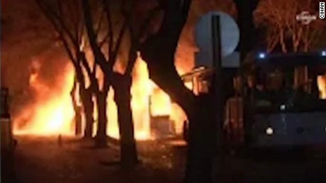 Turkish military: Deadly explosion a 'terror attack'