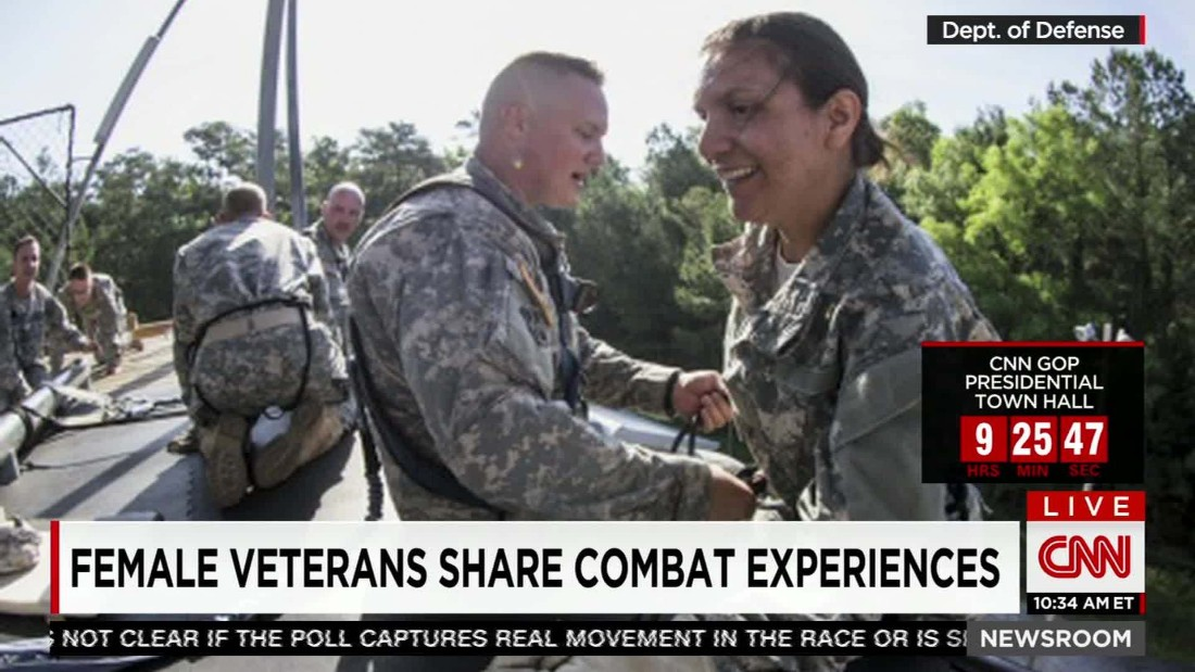 Female Marine drops out of infantry course