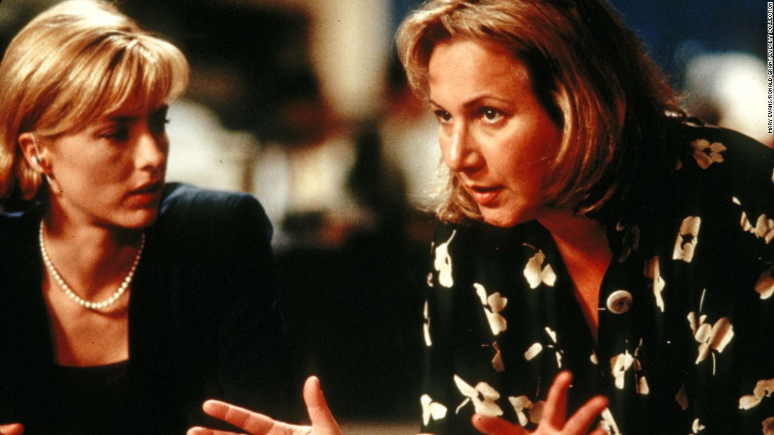 "Mimi Leder admits that the biggest challenge she's faced in her directing career is making feature films, but 1998's ""Deep Impact"" (with Tea Leoni, left) was a box office success, earning $140 million at the box office. ""It asked questions that I think we ask ourselves,"" Leder said."