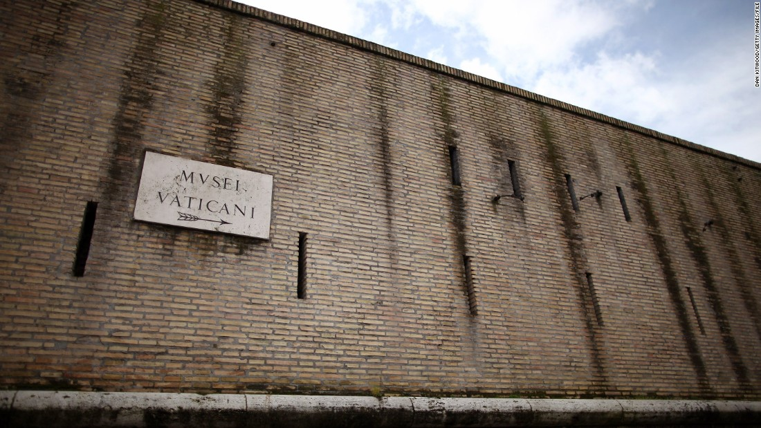 Big Wall Pictures Part - 19: About Those Vatican Walls ... - CNN