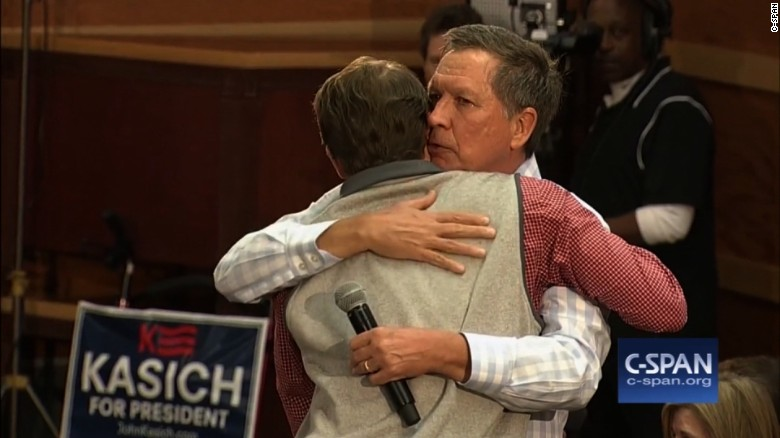 Kasich: Be present for others' wins and losses