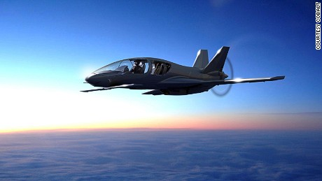 A light aircraft revolution takes off