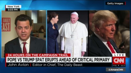 exp John Avlon on Trump and The Pope_00005926