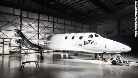 Virgin released new images of SpaceShipTwo via their Twitter account.