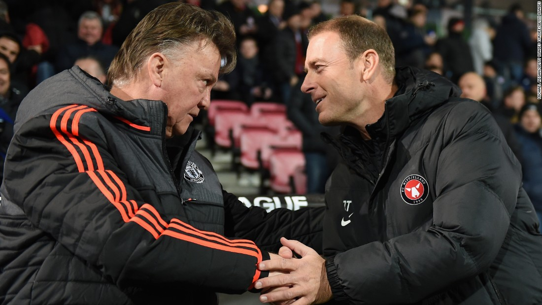 One of the 64-year-old's lowest moments came in February as United lost 2-1 to Danish minnows Midtjylland in the Europa League.