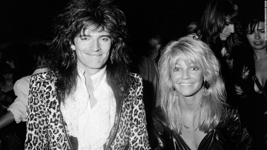 "<strong>Tommy Lee and Heather Locklear:</strong> The 24-year-old ""Dynasty"" actress shocked everyone when she married the 23-year-old Motley Crue drummer in 1986. She famously quipped: ""Tommy doesn't worship the devil; he worships me."" The couple split in 1994 amid numerous allegations that Lee also worshipped groupies while on tour."