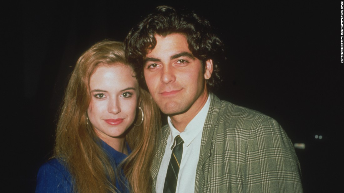 <strong>Kelly Preston and George Clooney:</strong> Before she married John Travolta, Preston dated heartthrob Clooney from 1987-89. The pair of actors even lived together with their potbellied pig, Max, whom Clooney continued to raise after their breakup.