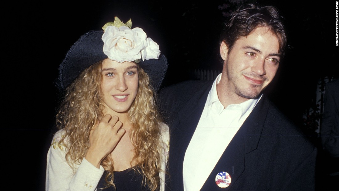 "<strong>Sarah Jessica Parker and Robert Downey Jr.:</strong> Before ""Sex and the City"" and her marriage to Matthew Broderick, Parker dated Downey from 1984-1991. He told Howard Stern in 2015 that his struggles with addiction played a major role in their breakup, and he said he recently had a ""friendly reunion"" with Parker that allowed him to gain closure."