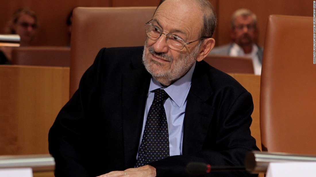 "<a href=""http://www.cnn.com/2016/02/19/europe/umberto-eco-dead/index.html"">Umberto Eco</a>, author of the novels ""The Name of the Rose"" and ""Foucault's Pendulum,"" died February 19 at the age of 84, his U.S. publisher said."