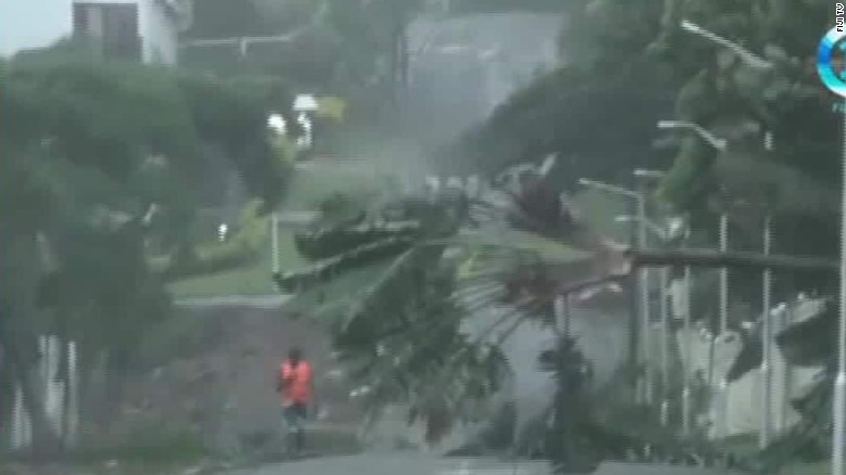 Tropical Cyclone Winston kills 1 in Fiji