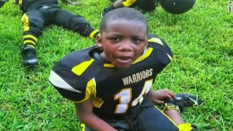 King Carter loved to play football, his family says.
