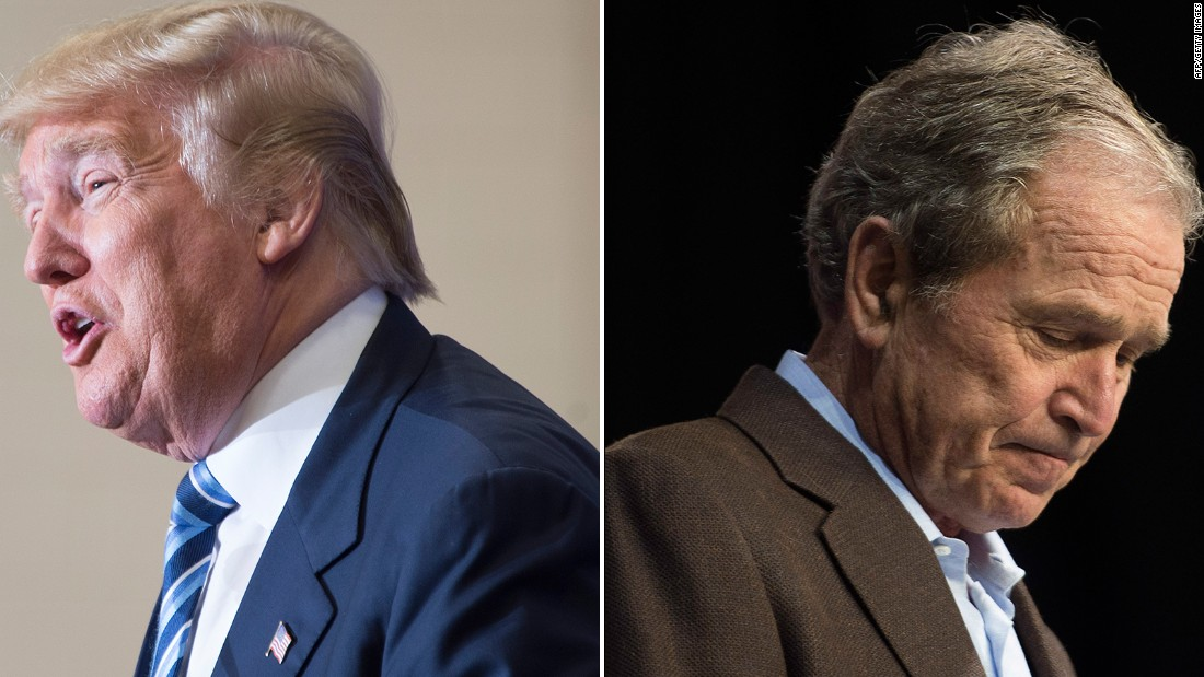 George W. Bush just laid a major smackdown on Trumpism